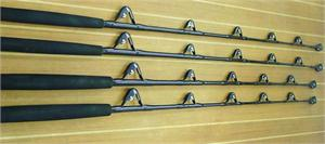 Black Hook Black Out Series Custom Rods